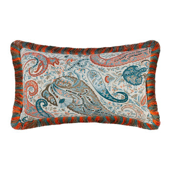 Salazar Turner Pillow with Piping - 30x40cm - Green