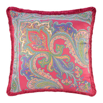 Salamanca Castiglia Pillow with Piping - 60x60cm - Pink