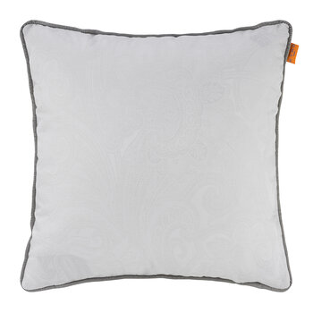 Jacquard Reims Pillow with Piping - 45x45cm - Gray
