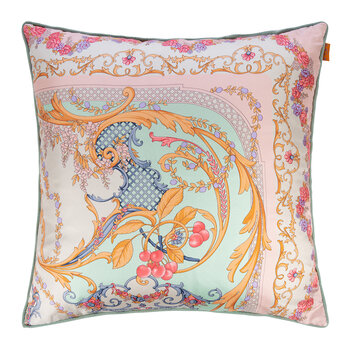 Pertuis Mirabeau Pillow with Piping - 60x60cm - Pink