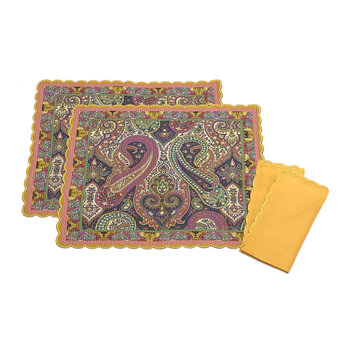 Salamanca Anaya Placemat and Napkin - Set of 2 - Multi