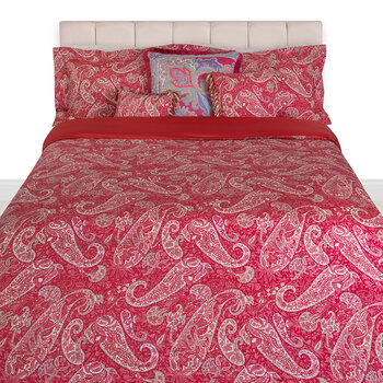 Salazar Turner Bed Set - Red