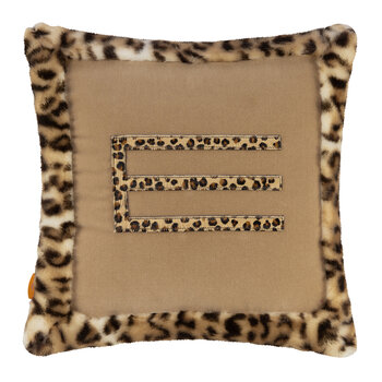 Leo Cushion with Edge - Beige