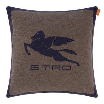 Shanga Stitch Pillow - 45x45cm - Purple
