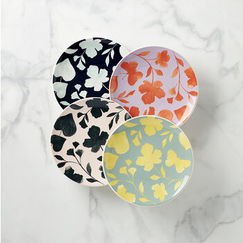 Assiette Accent Petal Lane - Lot de 4