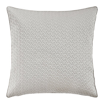 Palace Quilted Pillowcase - 65x65cm - Oyster