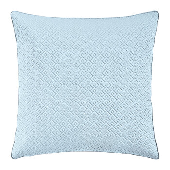 Palace Quilted Pillowcase - 65x65cm - Blue
