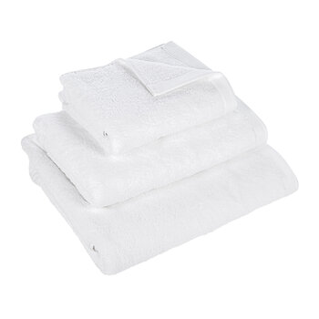 Essentiel Organic Cotton Towel - White