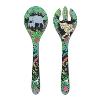 Jungle Salad Servers