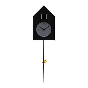 Freebird Tarzan Wall Clock - Black