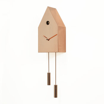 24K Cuckoo Clock - Copper