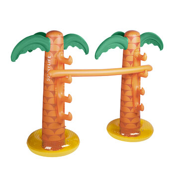 Inflatable Tropical Island Limbo
