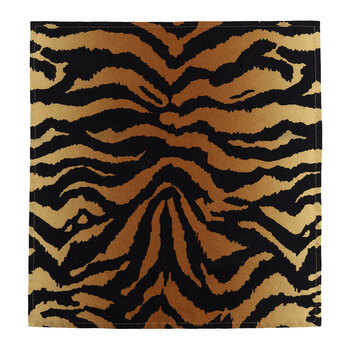 Tiger Sateen Napkins - Set of 4 - Natural