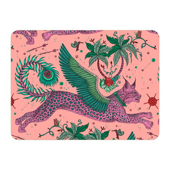 Lynx Placemat - Pink