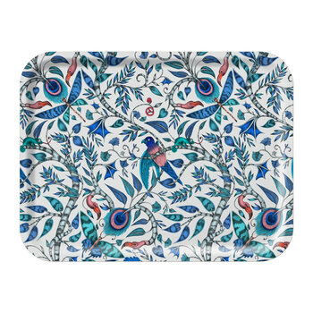 Rousseau Rectangular Tray - Blue