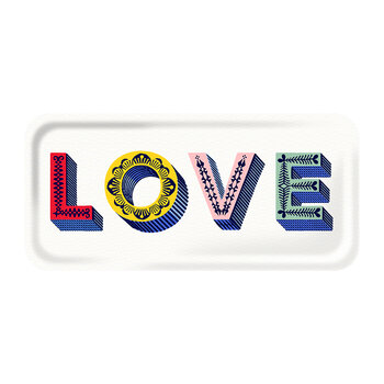Love Tray - White