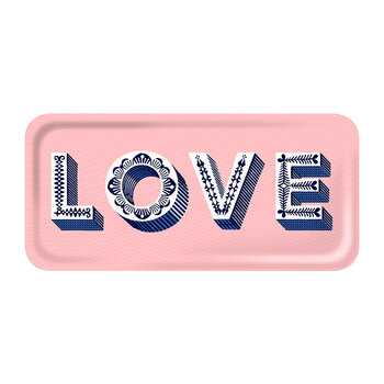 Love Tray - Pink