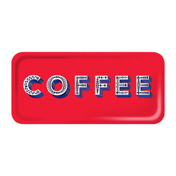 Coffee Tray - Red