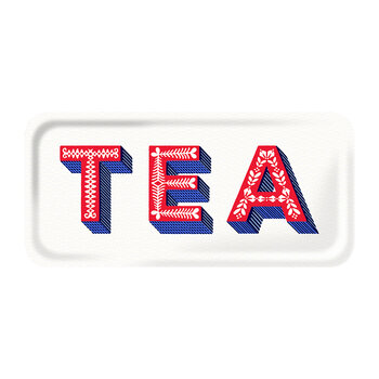 Tea Tray - White