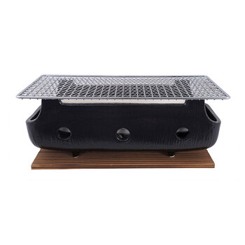 Konro Grill with Net and Base - Large