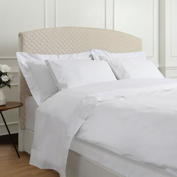 Five Row Cord Bed Set - White