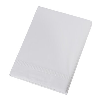 Five Row Cord Flat Sheet - White