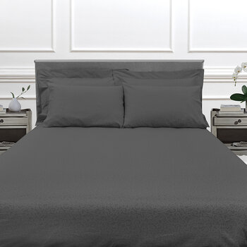 Princess Grace Bed Set - Charcoal
