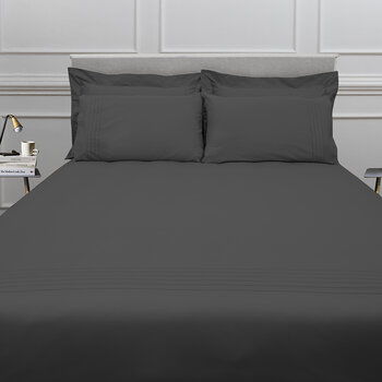 Grafton Bed Set - Charcoal