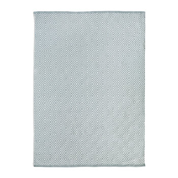Diamond 100% Recycled Rug - Warm Grey