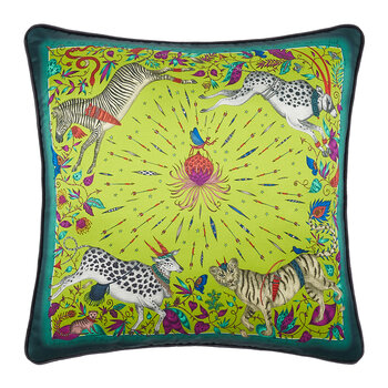 Protea Pillow - 45x45cm - Lime