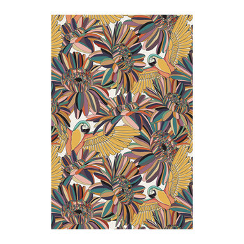 Tropicalism Abstract Vinyl Floor Mat - 99x150cm