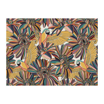 Set de Table Rectangle Abstrait Tropicalisme