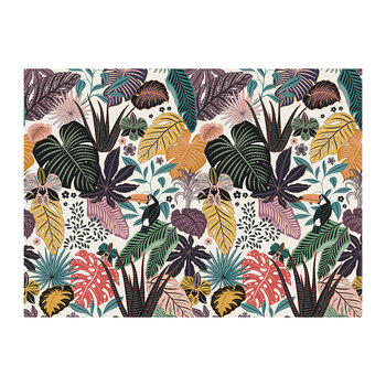Tropicalism Toucan Leaf Placemat