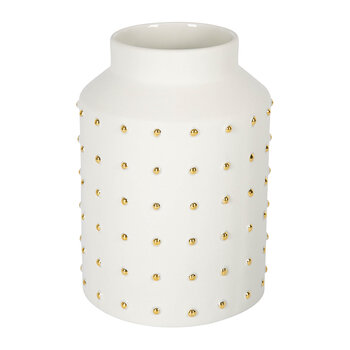 Gold Dot Vase - Small
