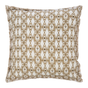 Tess Cushion - Bronze - 45x45cm