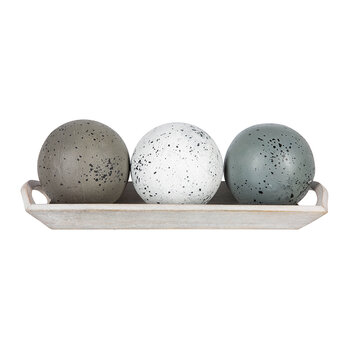 Ceramic Balls In Tray