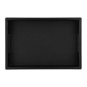 Weave Base Tray - Black
