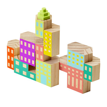 Blockitecture Building Blocks - Deco
