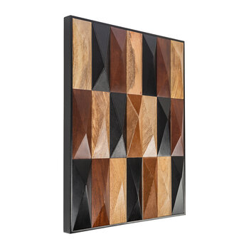 Large Wooden Tile Wall Art