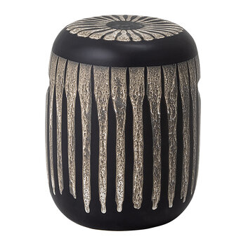 Stacey Stoneware Stool - Brown