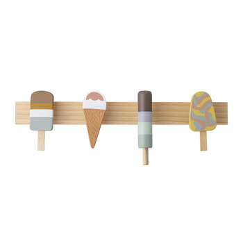 Ice Cream Coat Rack - Beech