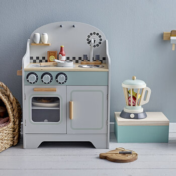 Children's Play Kitchen - Grey