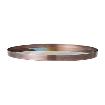 Waves Oval Tray - Multi