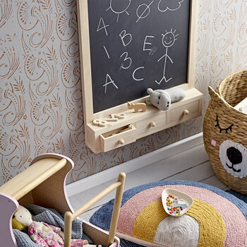 Children's Wooden Blackboard