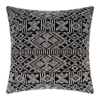 Aztec Knit Floor Cushion - 80x80cm