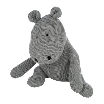 Kids Knitted Toy - Hippo
