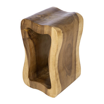 Hollow Wooden Stool
