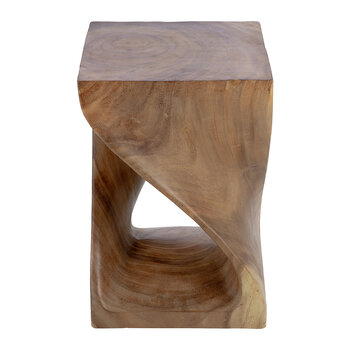 Twisted Wooden Stool