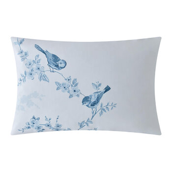 Taie d'Oreiller British Birds - Lot de 2 - Bleu
