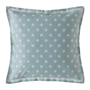 Button Spot Cushion - 40x40 - Mint
